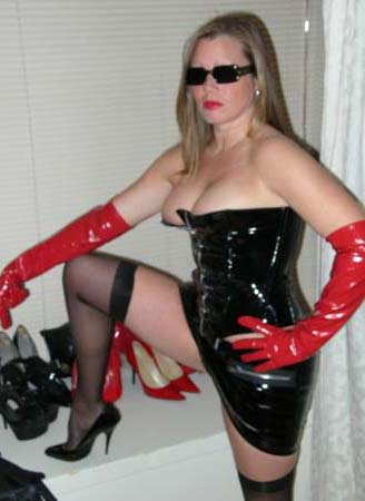 Bdsm sex dominatrix